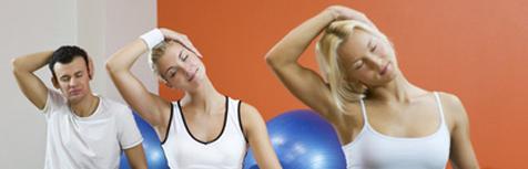 Physiotherapie und R�ckengymnastik